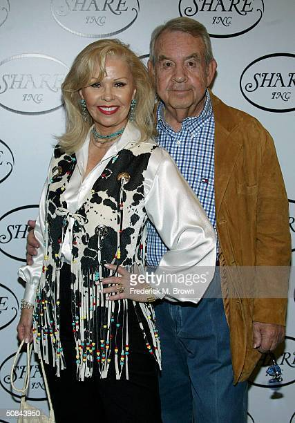 Actors Patricia and Tom Bosley attend the Share Inc 51st Annual Boomtown Party at the Century Plaza Hotel Spa on May 15 2004 in Century City...