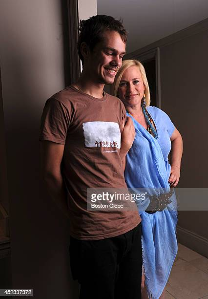 """Actors Patricia Arquette and Ellar Coltrane spent 12 years together in the making of the movie """"Boyhood."""" They were photographed at the Eliot Hotel..."""
