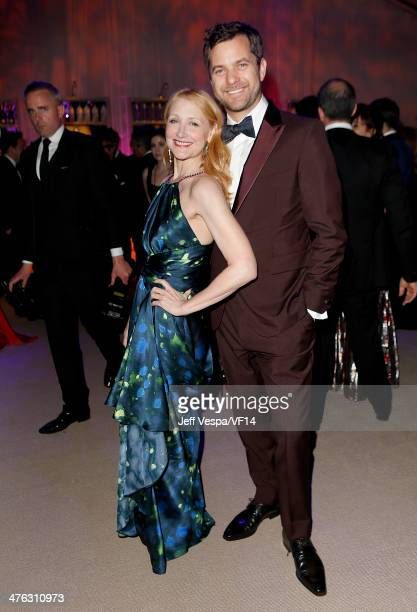 Actors Patricia Clarkson and Joshua Jackson attend the 2014 Vanity Fair Oscar Party Hosted By Graydon Carter on March 2 2014 in West Hollywood...