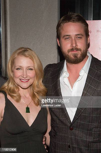 Actors Patricia Clarkson and Ryan Gosling arrive at the New York screening of Lars And The Real Girl October 3 at the Paris Theater in New York City