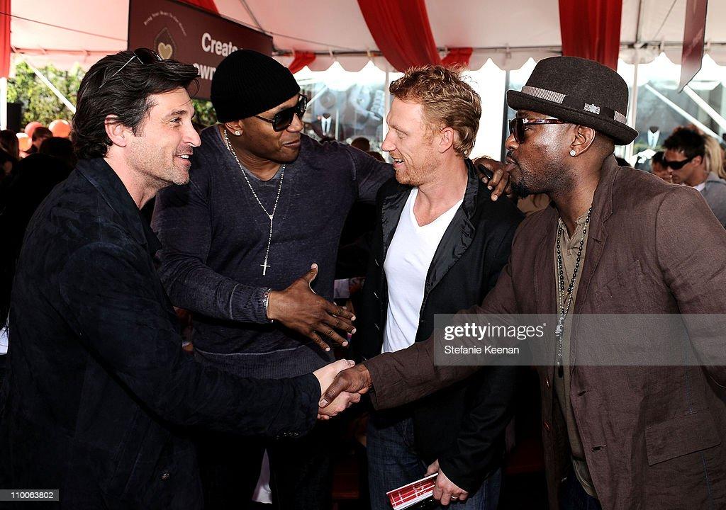 Actors Patrick Dempsey Ll Cool J Kevin Mckidd And Omar Epps
