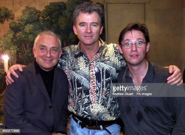 Actors Patrick Duffy Paul Freeman and Richard Thomas at an after show party at The Covent Garden Hotel after their first night in Art * Former Dallas...