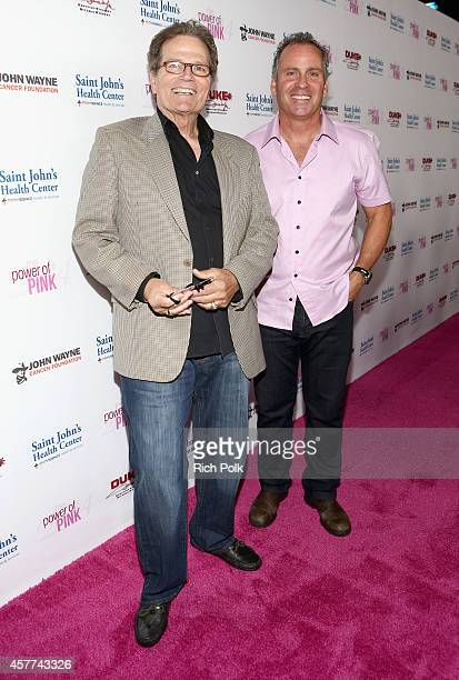 Actors Patrick Wayne and Ethan Wayne attend Power of Pink 2014 Benefiting the Cancer Prevention Program at Saint John's Health Center at House of...
