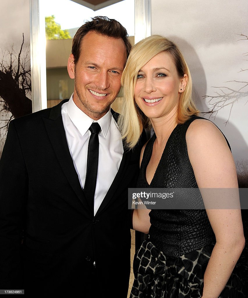 Actors Patrick Wilson (L) and Vera Farmiga arrive at the premiere of Warner Bros. 'The Conjuring' at the Cinerama Dome on July 15, 2013 in Los Angeles, California.