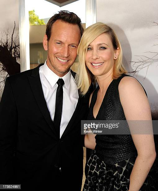 "Actors Patrick Wilson and Vera Farmiga arrive at the premiere of Warner Bros. ""The Conjuring"" at the Cinerama Dome on July 15, 2013 in Los Angeles,..."