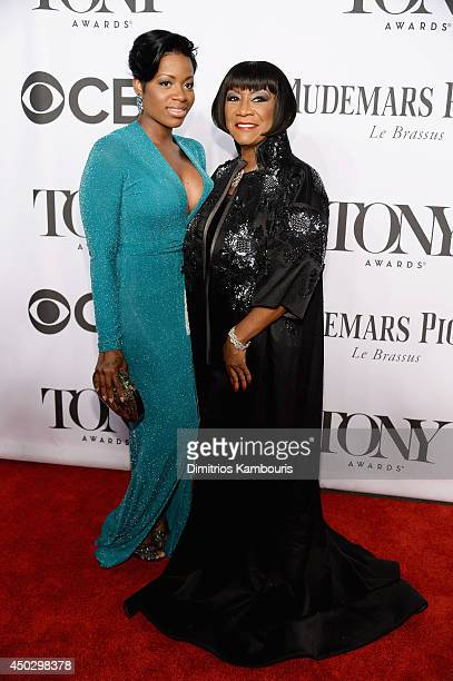Actors Patti Lebelle and Fantasia attend the 68th Annual Tony Awards at Radio City Music Hall on June 8 2014 in New York City