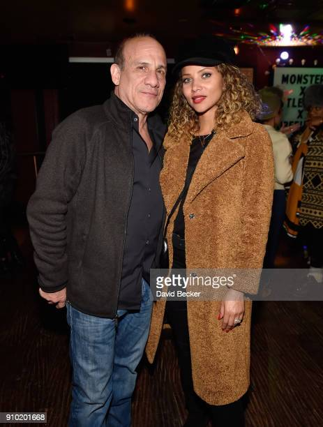 Actors Paul BenVictor and Denise Vasi attend Red Crown Productions celebrates 'Monster' presented by Tubefilter and OTT Lending at Rock Reilly's...