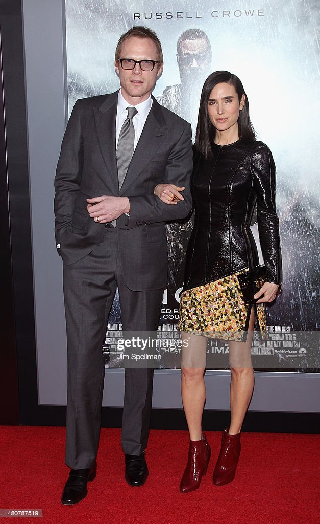 actors paul bettany and jennifer connelly attend the 39 noah 39 new york photo d 39 actualit. Black Bedroom Furniture Sets. Home Design Ideas