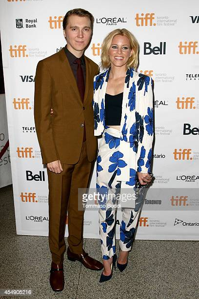 Actors Paul Dano and Elizabeth Banks attend the 'Love Mercy' premiere during the 2014 Toronto International Film Festival at The Elgin on September 7...