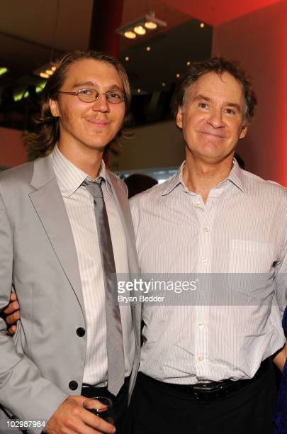 Actors Paul Dano and Kevin Kline attend the after party for the premiere of 'The Extra Man' at Vapiano on July 19 2010 in New York City