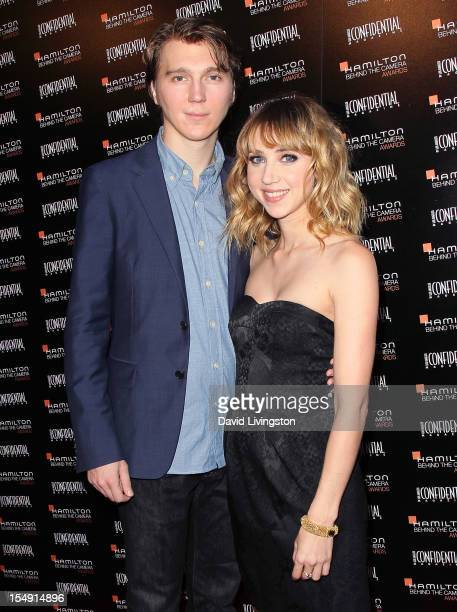 Actors Paul Dano and Zoe Kazan attend the 6th Annual Hamilton Behind The Camera Awards presented by Los Angeles Confidential Magazine at the House of...