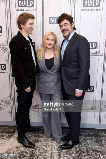Actors Paul Dano, Patricia Arquette and Benicio del Toro visit Build Series to discuss the Showtime series 'Escape at Dannemora' at Build Studio on...