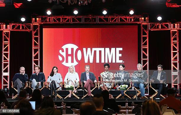 Actors Paul Giamatti Damian Lewis Maggie Siff Malin Akerman David Costabile Condola Rashad and Toby Leonard Moore and creators Brian Koppelman and...