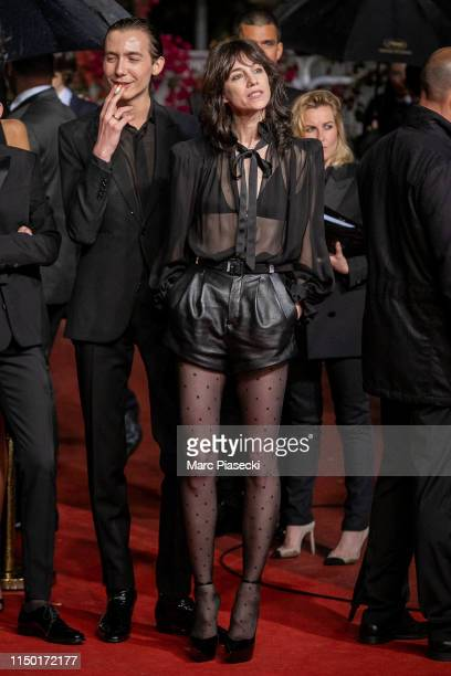 """Actors Paul Hameline and Charlotte Gainsbourg attend the screening of """"Lux Aetterna"""" during the 72nd annual Cannes Film Festival on May 18, 2019 in..."""