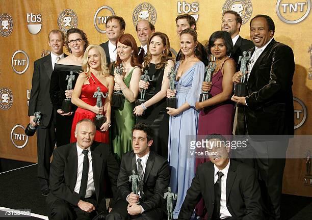 Actors Paul Lieberstein, Phyllis Smith, Angela Kinsey, Rainn Wilson, Kate Flannery, Brian Baumgartner, Jenna Fischer, John Krasinski, Melora Hardin,...