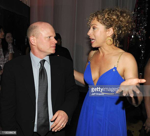 Actors Paul McCrane and Alex Kingston at the 7th Annual TV Land Awards held at Gibson Amphitheatre on April 19 2009 in Universal City California