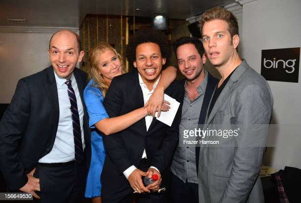 Actors Paul Scheer Amy Schumer Eric Andre Nick Kroll and Anthony Jeselnik attend Variety's 3rd annual Power of Comedy event presented by Bing...