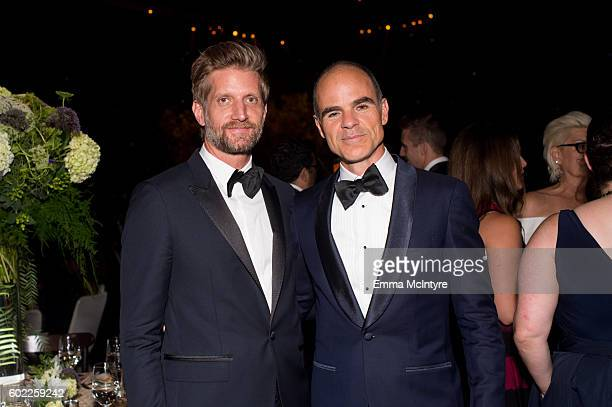 Actors Paul Sparks and Michael Kelly attend the Creative Arts Ball at Microsoft Theater on September 10 2016 in Los Angeles California