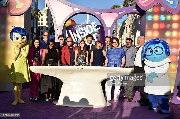 Actors Paula Poundstone director Pete Docter Mindy Kaling Richard Kind Lewis Black Kaitlyn Dias Bill Hader Amy Poehler Kyle MacLachlan Phyllis Smith...
