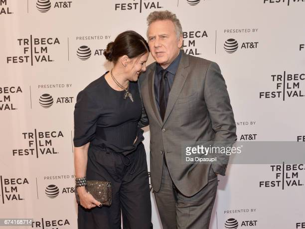 Actors Paula Ravets and Paul Reiser attend the There's Johnny Premiere during the 2017 Tribeca Film Festival at SVA Theater on April 27 2017 in New...