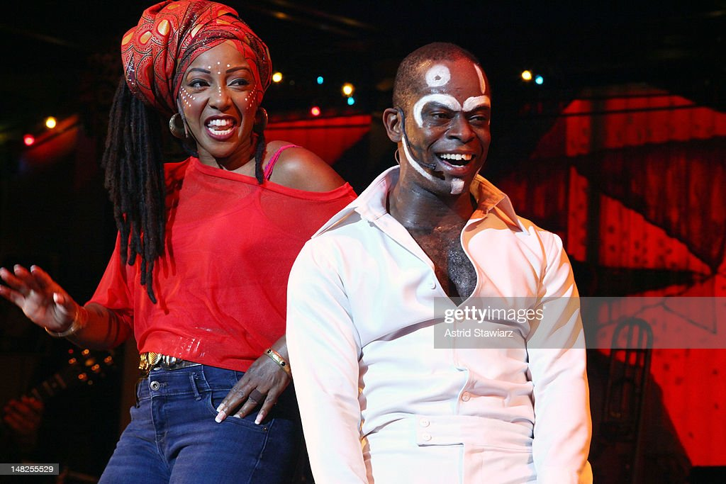 """""""Fela!"""" Broadway Limited Engagement Opening Night - Curtain Call"""