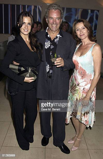 Actors Paz Vega Jay Benedict and Cherie Lunghi attend the UK Gala Film Premiere of Carmen at the Curzon Mayfair on September 5 2004 in London