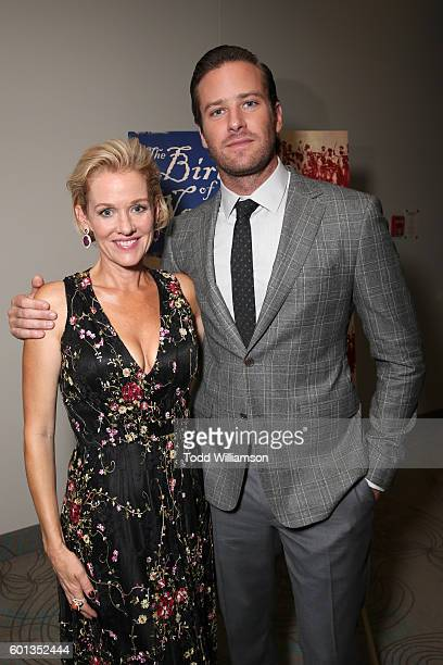 Actors Penelope Ann Miller and Armie Hammer attend Fox Searchlight's 'The Birth of a Nation' special presentation during the 2016 Toronto...
