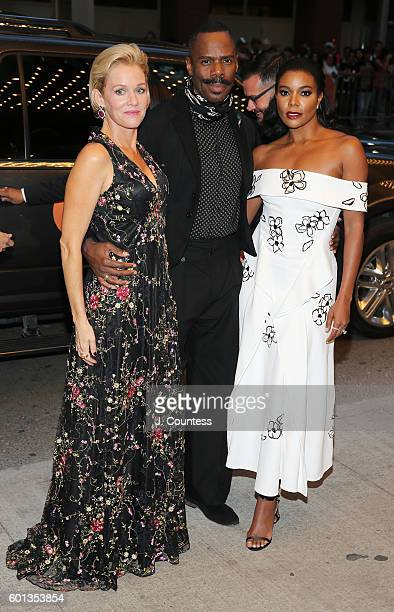 Actors Penelope Ann Miller Coleman Domingo and Gabrielle Union attend the 2016 Toronto International Film Festival premiere of 'The Birth Of A...