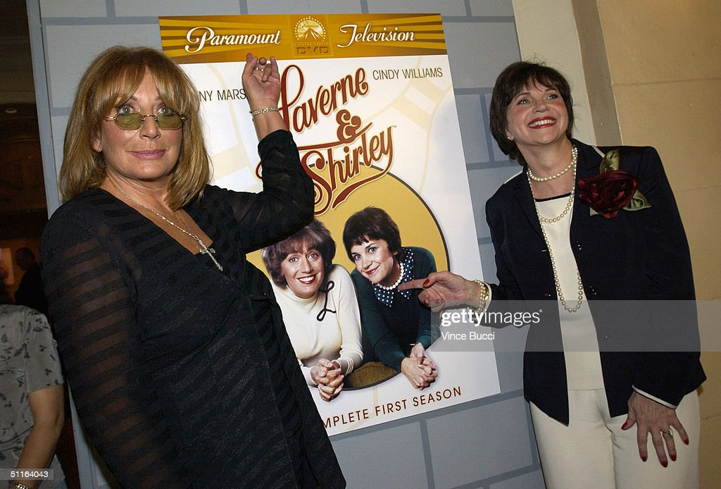 Penny Marshall and Cindy Williams Get A Star On The Walk of Fame : News Photo