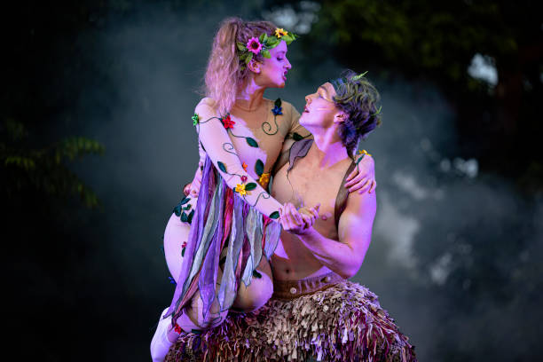 GBR: Dress Rehearsal Takes Place For A Midsummer Night's Dream At Kew Gardens