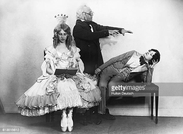 Actors Performing in Costume