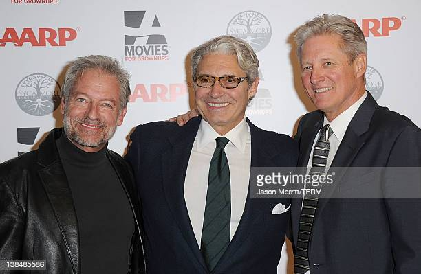 Actors Perry King Michael Nouri and Bruce Boxleitner attends AARP Magazine's 11th Annual Movies for Grownups Awards Gala at the Beverly Wilshire Four...