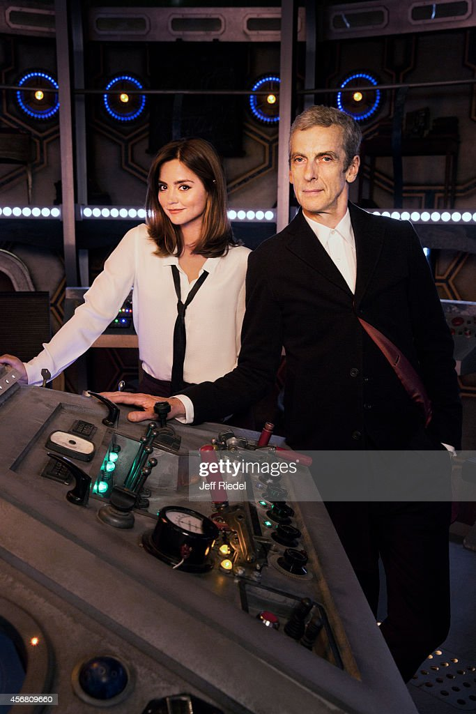 Peter Capaldi and Jenna Coleman, Entertainment Weekly, August 8, 2014