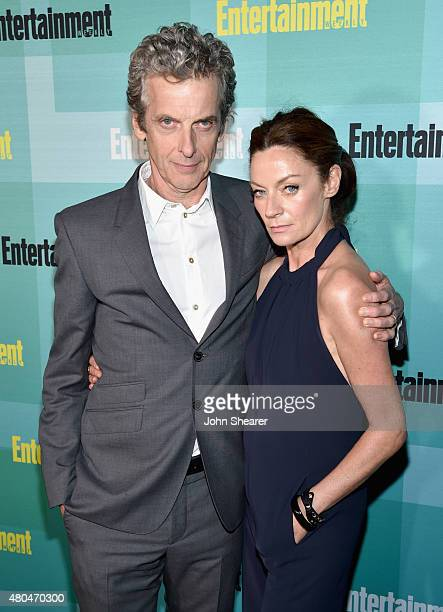Actors Peter Capaldi and Michelle Gomez attend Entertainment Weekly's Annual ComicCon Party in celebration of ComicCon 2015 at FLOAT at The Hard Rock...