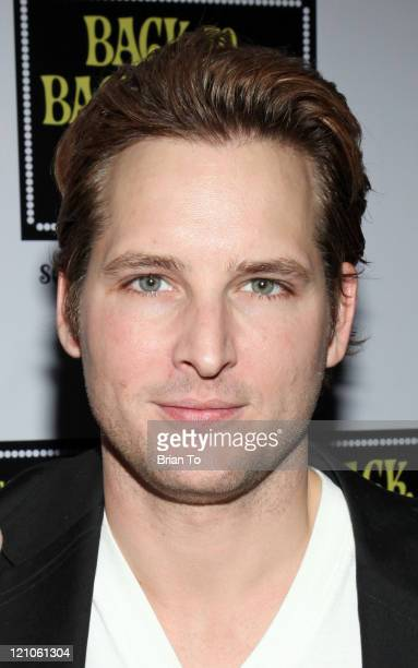 Actors Peter Facinelli arrives at Back to Bacharach and David Opening Night at The Music Box @ Fonda on April 19 2009 in Hollywood California