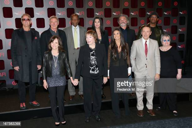 Actors Peter Fonda, Harrison Ford, Sidney Poitier, Cher, Kurt Russell, Samuel L. Jackson, Sally Field, Shirley MacLaine, Demi Moore, Kevin Spacey and...