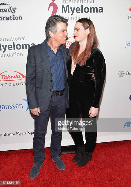 Actors Peter Gallagher and Kathryn Gallagher attend the International Myeloma Foundation's 10th Annual Comedy Celebration at The Wilshire Ebell...