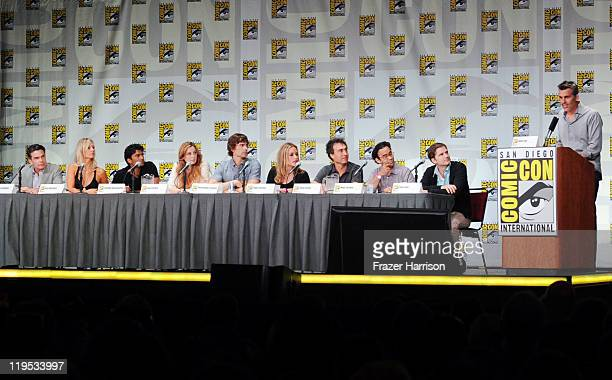 Actors Peter Gallagher Kari Matchett Sendhil Ramamurthy Anne Dudek Christopher Gorham Piper Perabo executive producer Doug Liman coexecutive...