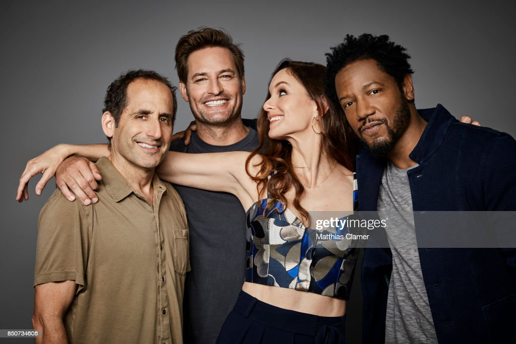 Actors Peter Jacobson, Josh Holloway, Sarah Wayne Callies and Tory Kittles from Colony are photographed for Entertainment Weekly Magazine on July 20, 2017 at Comic Con in San Diego, California. PUBLISHED