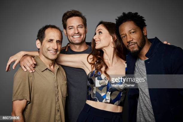 Actors Peter Jacobson Josh Holloway Sarah Wayne Callies and Tory Kittles from Colony are photographed for Entertainment Weekly Magazine on July 20...