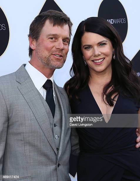 Actors Peter Krause and Lauren Graham attend the 2015 TV Land Awards at the Saban Theatre on April 11 2015 in Beverly Hills California