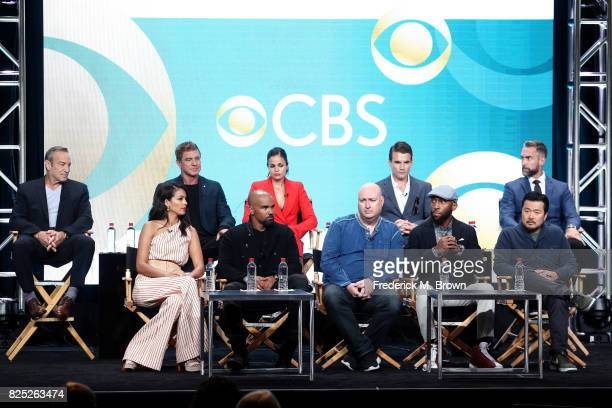 Actors Peter Onorati Kenny Johnson Lina Esco Alex Russell Jay Harrington and actors Stephanie Sigman Shemar Moore and executive producers Shawn Ryan...