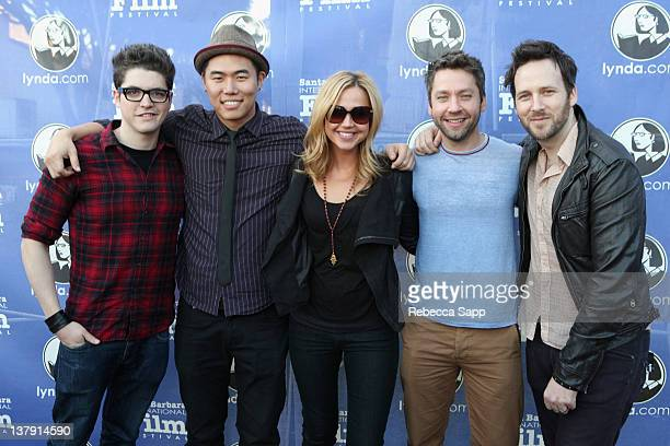 Actors Philip Ettinger Charles Chu Arielle Kebbel Actor Michael Weston and Writer/Director/ Actor Ryan O'Nan of The Brooklyn Brothers Beat the Best...