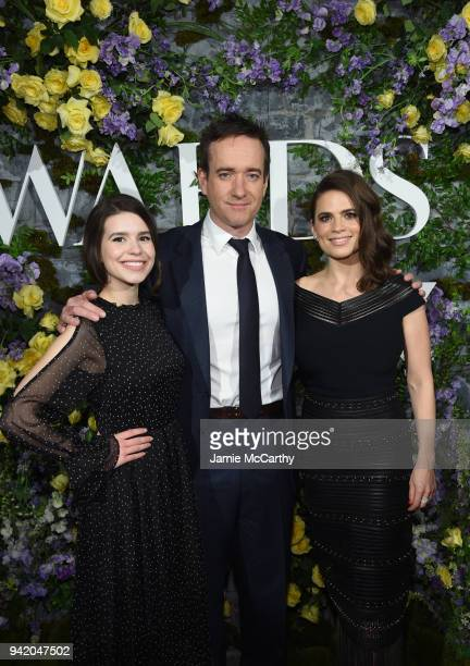 Actors Philippa Coulthard Actor Matthew MacFadyen and Hayley Atwell attend New York Red Carpet Premiere Screening Event of STARZ Howards End at the...