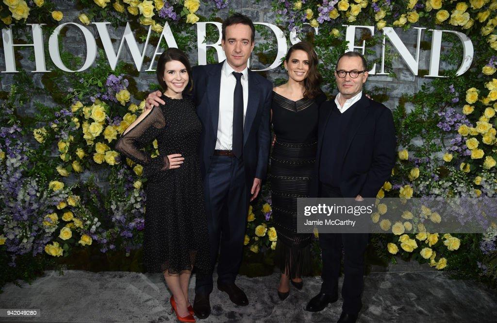 New York Red Carpet Premiere Screening Event Of STARZ 'Howards End' : ニュース写真