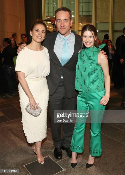 Actors Philippa Coulthard Matthew Macfadyen and Hayley Atwell attend the STARZ Counterpart Howards End FYC Event at LACMA on May 23 2018 in Los...