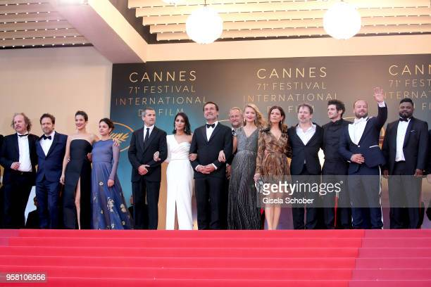 Actors Philippe Katerine Jonathan Zaccai actresses Melanie Doutey and Noee Abita actor Guillaume Canet actress Leila Bekhti director Gilles Lellouche...