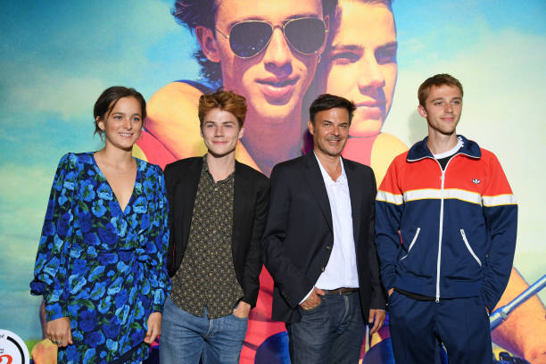 """FRA: """"Ete 85 - Summer Of 85"""" Photocall In Paris"""