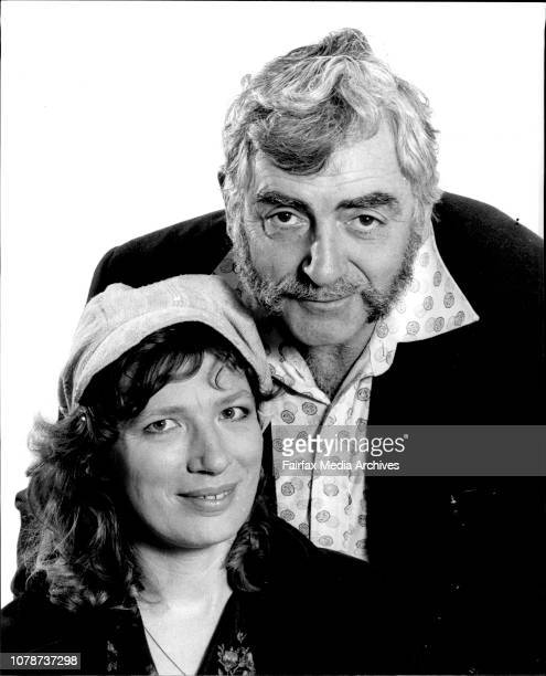 Actors Phillip Ross and Felicity Gordon photographed in the office today Phillip Ross and Felicity the stage couple September 04 1978