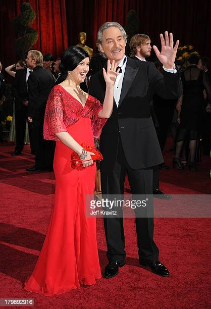 Actors Phoebe Cates and Kevin Kline arrives at the 81st Annual Academy Awards held at The Kodak Theatre on February 22 2009 in Hollywood California
